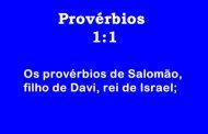 Provérbios 1: 1