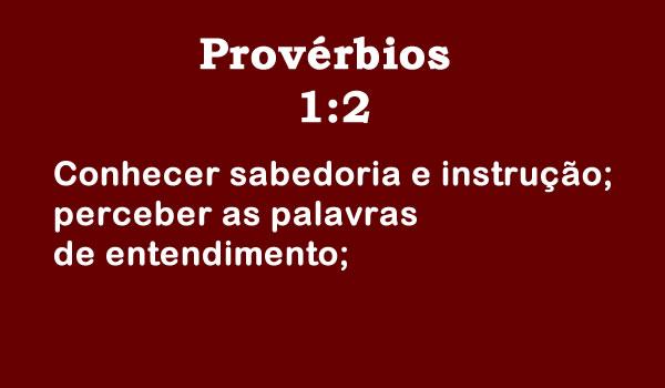 Provérbios 1:2